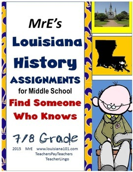 LOUISIANA - Find Someone Who Knows…