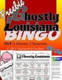 LOUISIANA - Ghostly State E/C Bingo (Freebie)