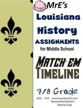 LOUISIANA - Match 'em Timeline activity