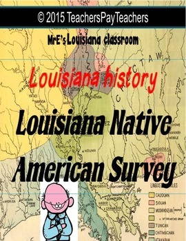 LOUISIANA - Native American Survey Graphic Organizer