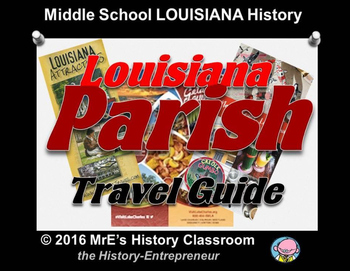 LOUISIANA  Parish Travel Guides project