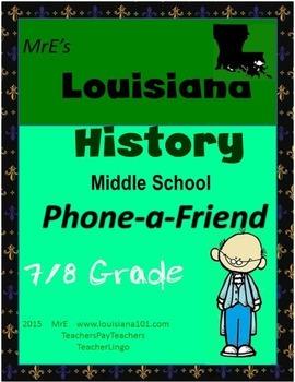 LOUISIANA - Phone A Friend