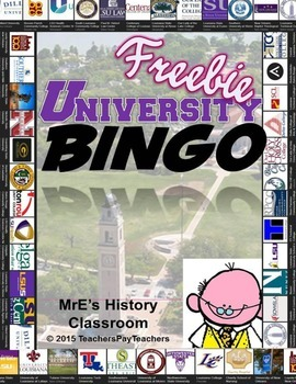 LOUISIANA - Universities & Colleges of Louisiana Self Bingo