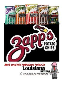 LOUISIANA - Zapp's Chips WS