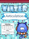 NO PREP Winter Articulation