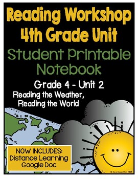 Lucy Calkins Reading Workshop - 4th Grade Notebook - Unit 2