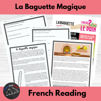 La Baguette Magique - a story for beginning/intermediate F