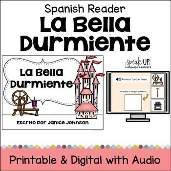 La Bella Durmiente Spanish Reader ~ Simplified for Languag