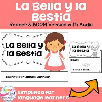 La Bella y la Bestia Spanish Reader ~ Simplified for Langu