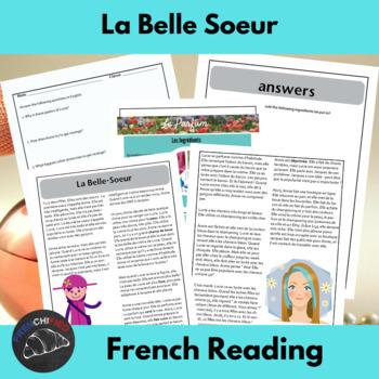 La Belle Soeur - a story for beginning/intermediate French