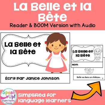 La Belle et la Bête French Reader  ~ Simplified for Langua