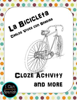 La Bicicleta de Carlos Vives con Shakira-Spanish Song Activity