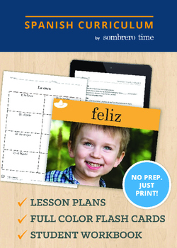 La Cara - 1 Week of Teacher Lesson Plans with Flash Cards