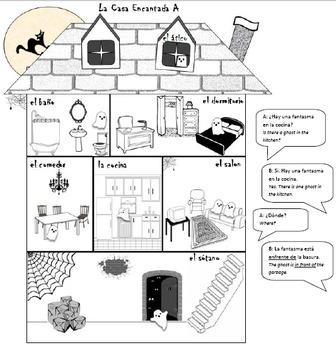 La Casa Encantada - Halloween Speaking GAP