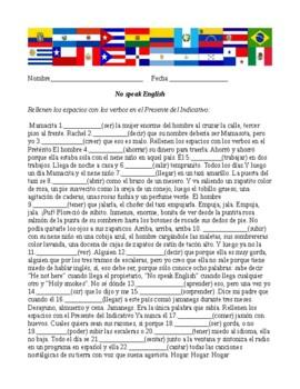 La Casa en Mango Street/ No speak English