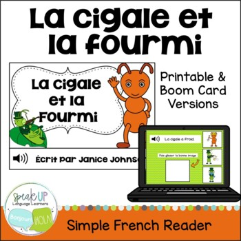 La Cigale et la Fourmi ~ French Ant & Grasshopper Fable Re