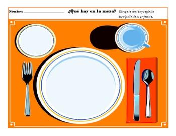 La Comida: Draw the Food!