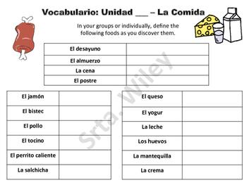 La Comida - Food Groups Battle Match Game