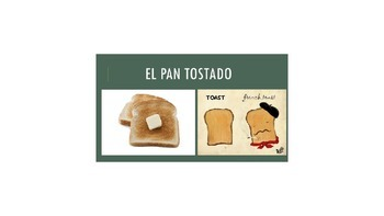 La Comida - Food in Spanish PowerPoint
