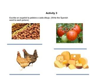 La Comida/the food bundle