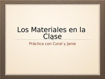 La Escuela Práctica (Spanish 1 Classroom Vocab Interactive