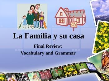 La Familia, Tener, Possessive Adjectives