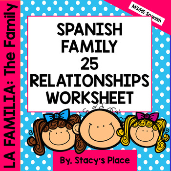 La Familia: The Family: 25 Family Relationships