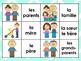 La Famille Matching Card Game and Oral Activity