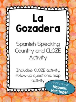 La Gozadera - Hispanic Country Song Activity
