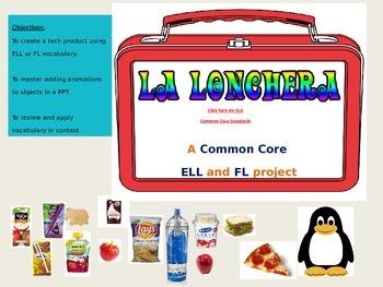 La Lonchera Tech Tutorial for L2, ELL, or Foreign Language