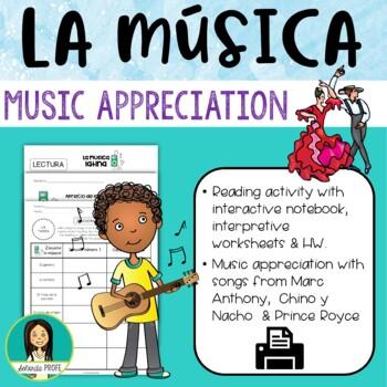 Spanish/Latin Music Apreciation Packet