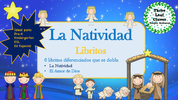 La Natividad Spanish Christmas Mini Books - Spanish, Bilin