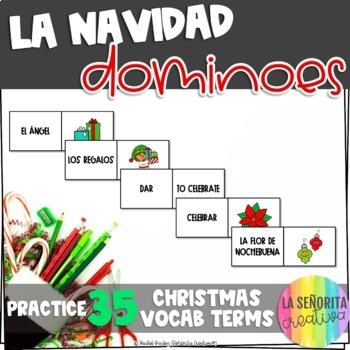 La Navidad Domino Game - Christmas Dominoes