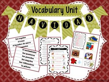 La Navidad (Vocabulario) - Spanish Class Christmas Vocabulary