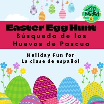 La Pascua (Easter) - Busqueda de los huevos de la Pascua (