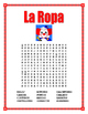 "La Ropa-Label the clothes Spanish-""El Payaso"" -Spring Clothing"