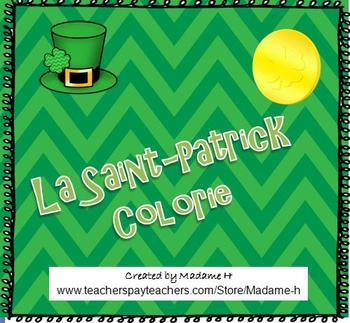 La Saint-Patrick Colorie