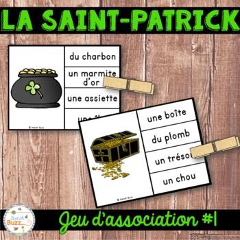 La Saint-Patrick - Jeu d'association #1 - St. Patrick's Da