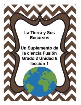 La Tierra y Sus Recursos - Unit 6 lesson1 -gr. 2 Science Fusion