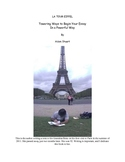 Writing Lessons ~ The Eiffel Tower & Powerful Ways to Begi