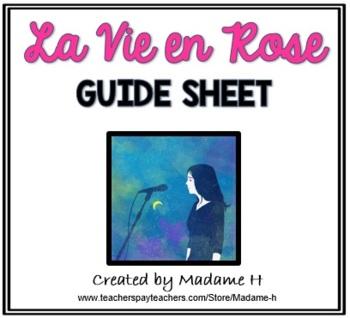 La Vie en Rose Guide Sheet