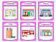 La Ville Spoons Card Game -The City Vocabulary in French