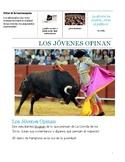 Running of the Bulls-Reading--Present tense- Debate- cultu