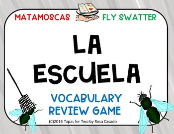 La escuela Vocabulary game
