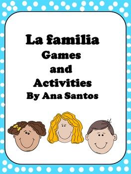La familia -Games and Activities