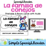 La familia de conejos ~ Spanish Family Spring reader for E
