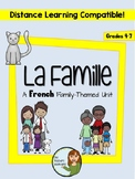 "La famille - A French ""family"" themed unit"