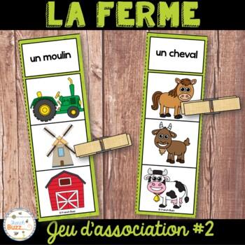 La ferme - Jeu d'association #2 - French farm