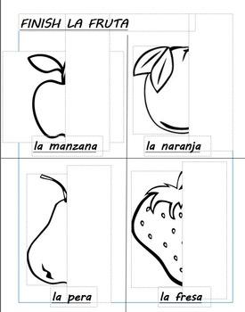 La fruta / Spanish fruit