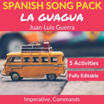 La guagua by Juan Luis Guerra: Spanish Song to Practice th